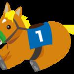 馬のぬいぐるみのイラスト